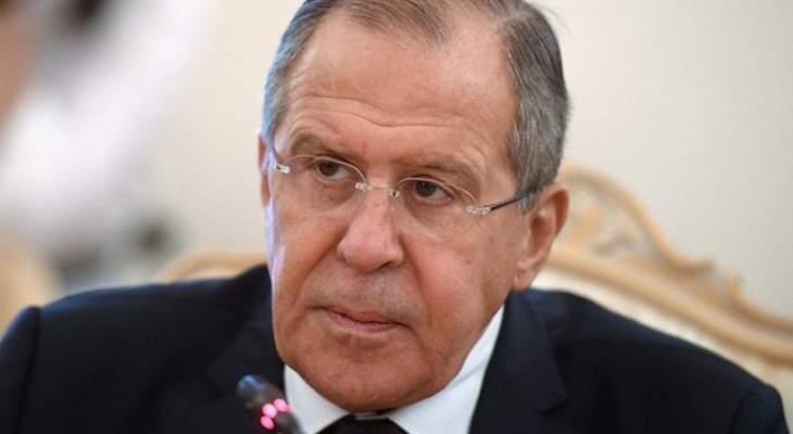لافروف: إذا حصلت ضربة أميركية على سوريا ستكون العواقب وخيمة