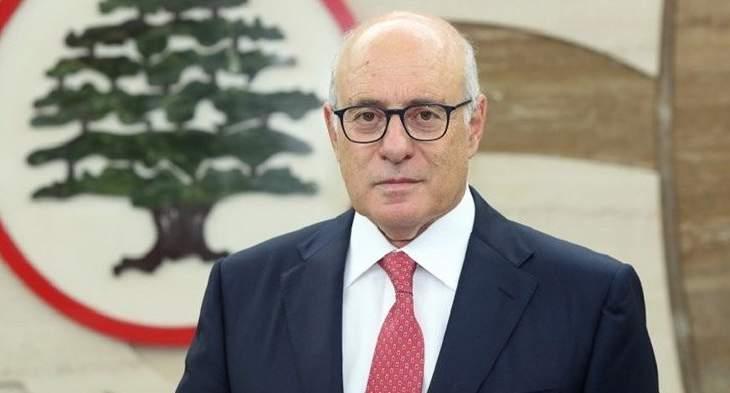 وزير العمل: نسبة الدين العام للناتج المحلي في لبنان 150 في المئة