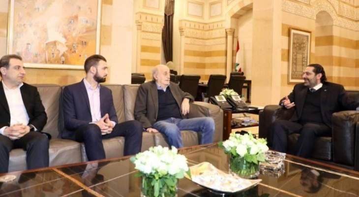 مصادر الجمهورية: الحريري وجنبلاط توصلا لصيغة نهائية بشأن نائب حاكم مصرف لبنان الدرزي