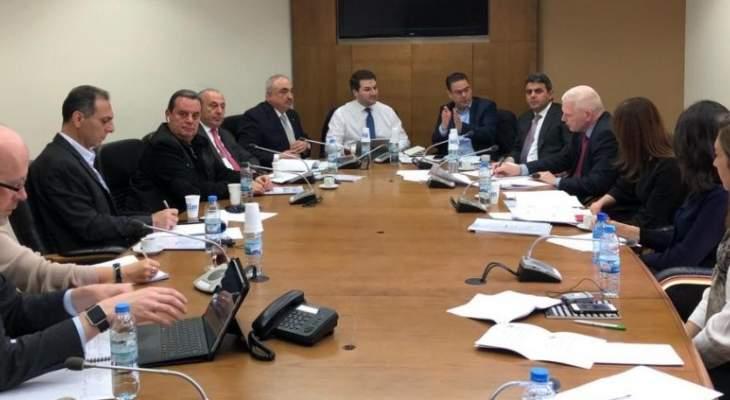 """إجتماع لنواب لجنة تكنولوجيا المعلومات مع وفد من مؤسسة """"وستمنستر من أجل الديمقراطية"""""""