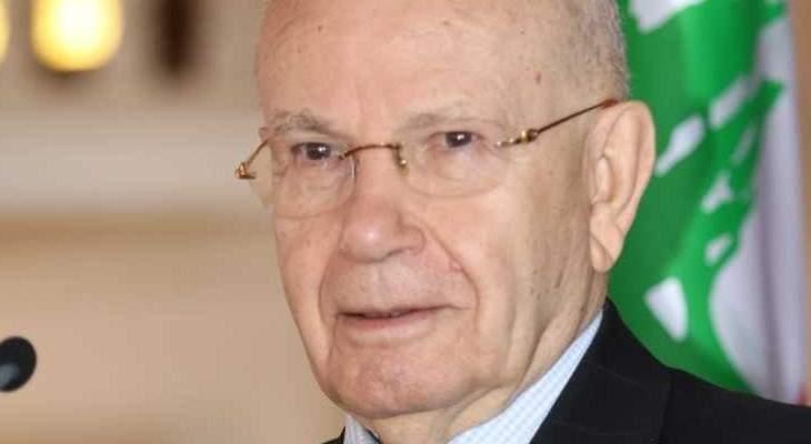 مراد: اقتراح بري بموضوع قانون جديد للانتخابات النيابية حلمنا منذ 1943