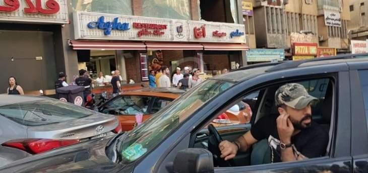 مسلحون اطلقوا النار على واجهات مطعم الاغا على اوتوستراد السيد هادي بال