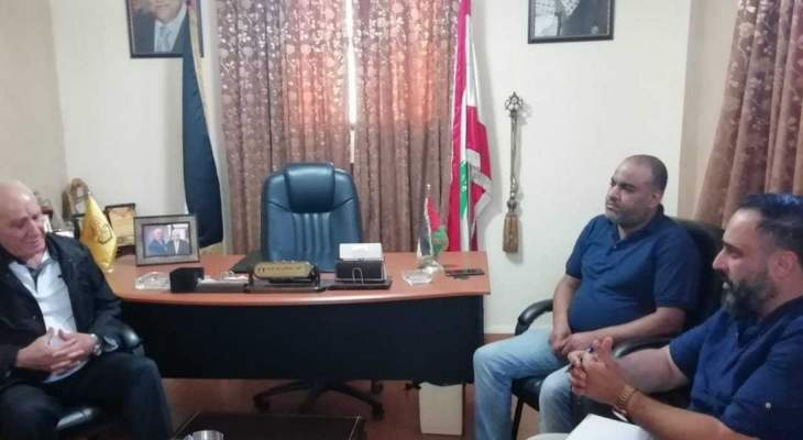 اللواء أبو عرب التقى وفدًا من مؤسسة أرض البشرـ لوزان