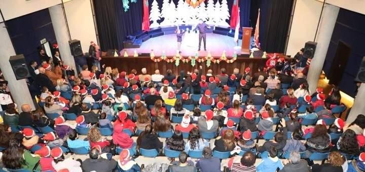هيئة التيار الوطني احتفلت بعيد الميلاد في الدامور