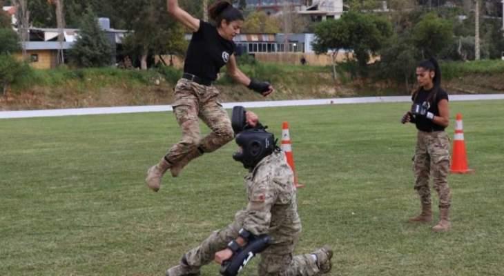 برامج تدريبية لصالح الحرس الجمهوري من تنظيم البعثة العسكرية الثنائية الإيطالية في لبنان