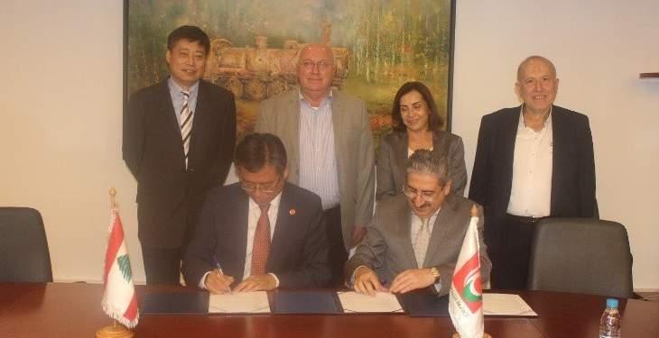 توقيع اتفاقية تعاون بين الجامعة اللبنانية وجامعة شنغهاي للدراسات الدولية