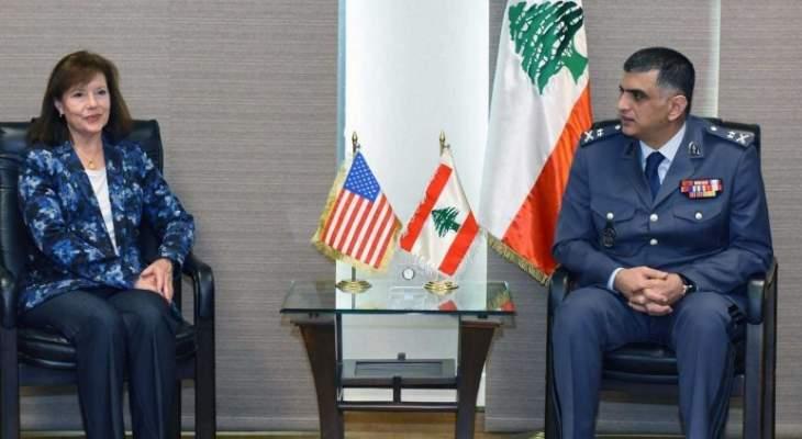 """لقاء بين عثمان والسفيرة الأميركية لإطلاق برنامج """"احتراف الشرطة الموسع EP2"""""""