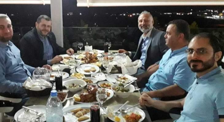 إفطار رمضاني جمع قيادتي حركة أمل وحزب الله في منطقة صيدا