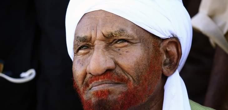 زعيم المعارضة السوداني يحذر من انقلاب مضاد على المجلس العسكري