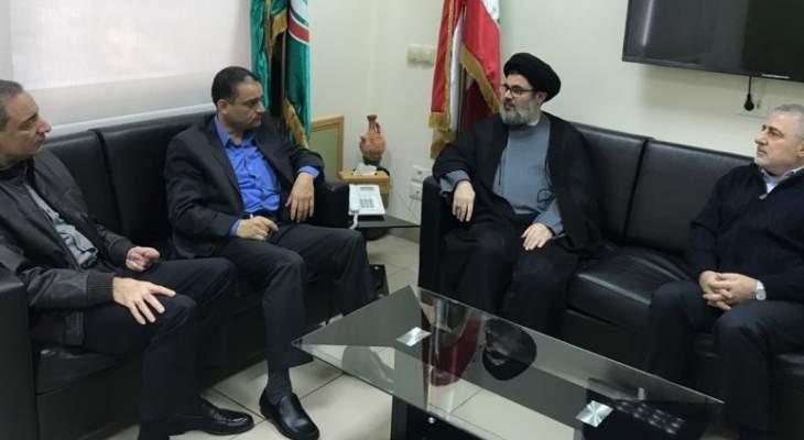 """""""حزب الله"""" و""""أمل"""" أكدا وحدة الموقف بشأن التطورات الداخلية: للإسراع بتأليف الحكومة"""