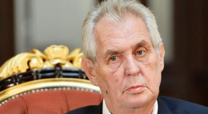 رئيس تشيكيا: محاولات الغرب فرض سياساته على سوريا وليبيا لم تجلب سوى الفوضى