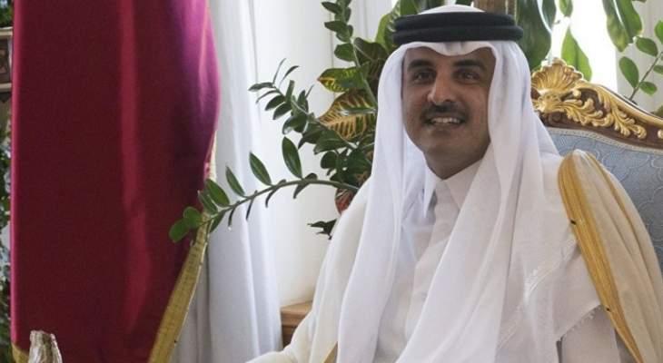 أمير قطر بحث مع قائد القيادة المركزية الأميركية العلاقات العسكرية بين البلدين