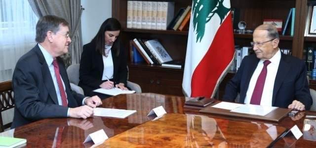 الشرق الأوسط: ساترفيلد إلى تل أبيب لنقل المقترحات اللبنانية لترسيم الحدود