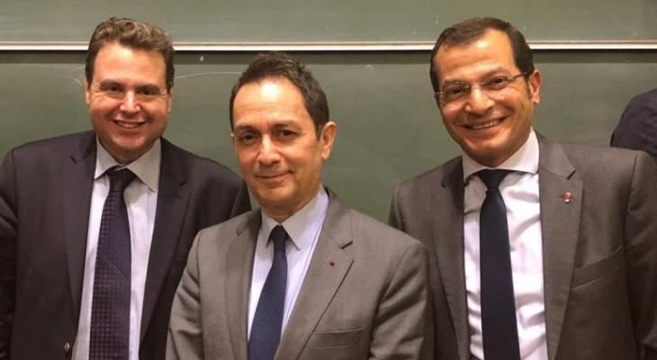 """بارود وعدوان شاركا بندوة حوارية في """"السوربون"""" حول وضع لبنان والأزمات التي يواجهها"""