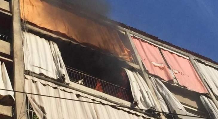الدفاع المدني: إخماد حريقين داخل شقة سكنية في طريق الجديدة ومنزل في بعلبك
