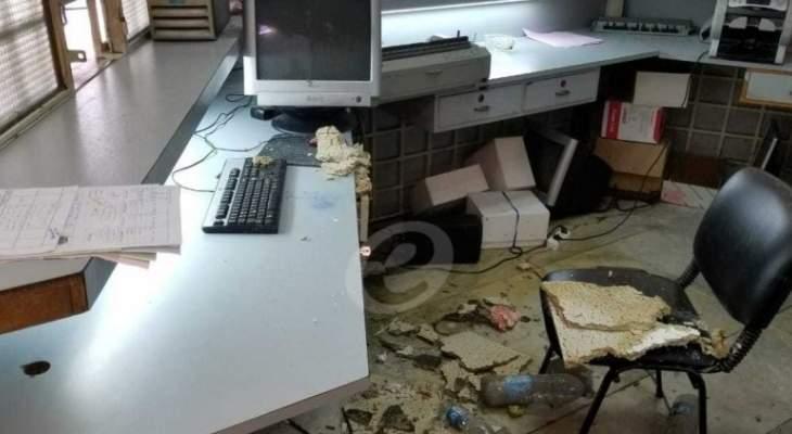 النشرة: أضرار في نافعة صيدا بسبب الأمطار المفاجئة بالأمس
