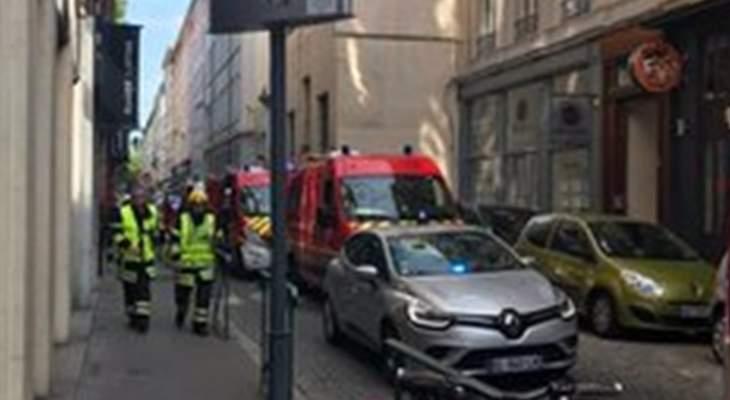 العربية: 13 جريحا جراء الانفجار الذي وقع في وسط ليون الفرنسية