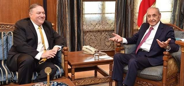 بري لبومبيو: أنا أطلق المقاومة وحزب الله هو حزب لبناني مقاوم