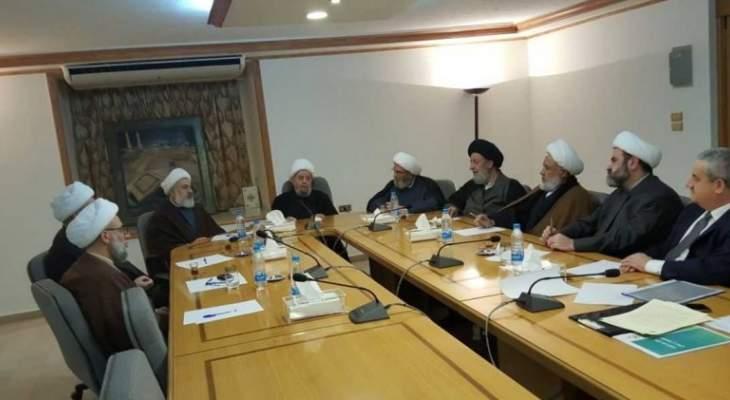 المجلس الإسلامي الشيعي:  اللبنانيون حققوا اعظم الانجازات بفعل تضامنهم