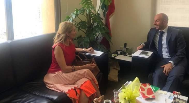 وزير البيئة طلب الادعاء على صياد مخالف والتقى سفيري كوريا الجنوبية وسويسرا