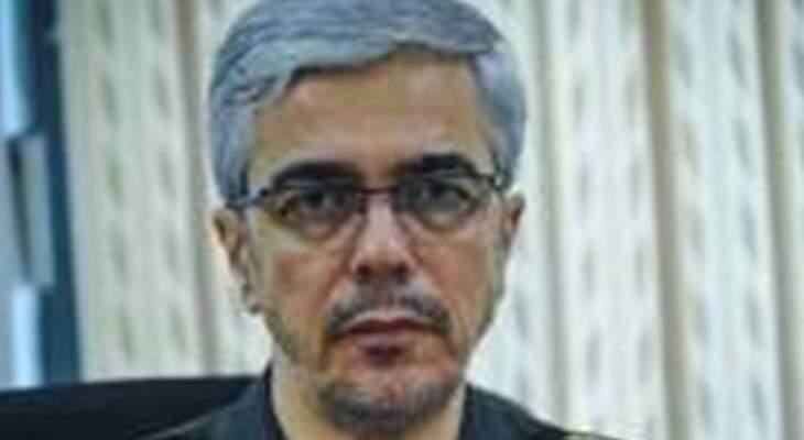 مسؤول عسكري ايراني: لضرورة وقف اعتداءات الكيان الصهيوني على سوريا
