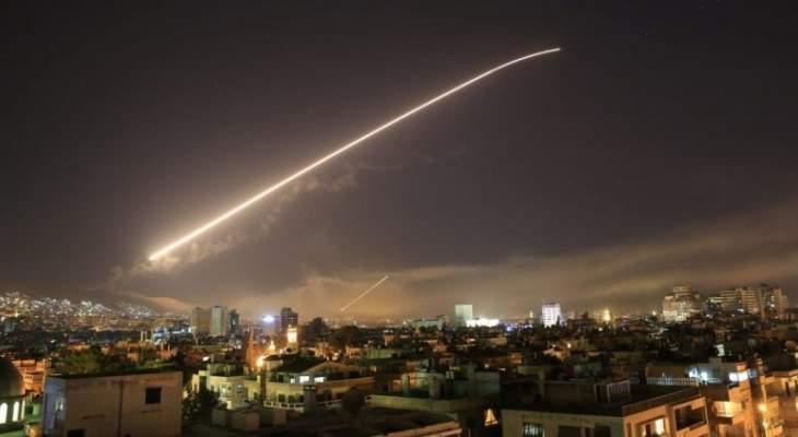 سانا: القصف جرى من فوق الأراضي اللبنانية وتم إسقاط عدد من الأهداف