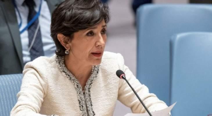 مدللي: اسرائيل مسؤولة عن إثارة الصراع من خلال انتهاكاتها اليومية لسيادة لبنان