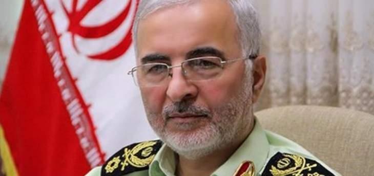 مسؤول ايراني: الأمن مستتب بطهران رغم الصراعات والحروب الناشبة بالمنطقة