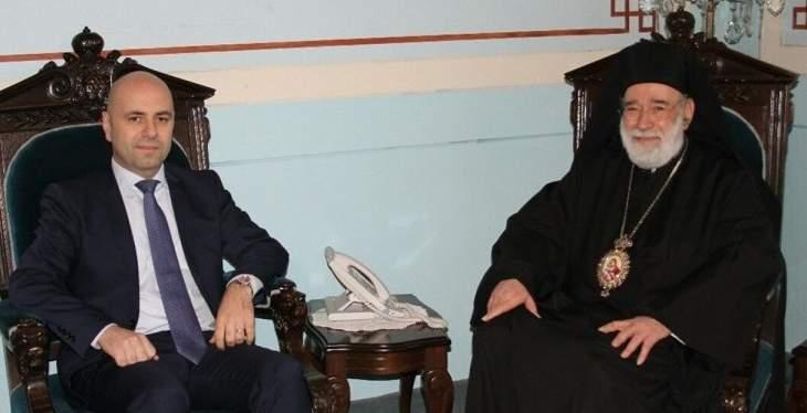 حاصباني التقى عودة: الإصلاحات مطلوبة ولبنان بحاجة إليها وللتفريق بين السياسة والعمل