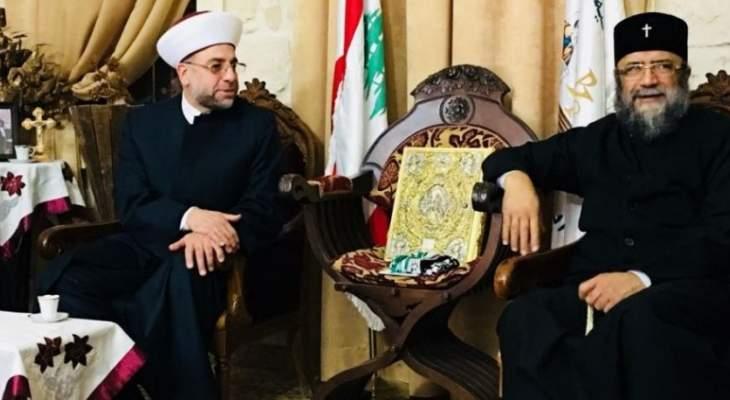 عبد الرزاق: للعمل على نبذ الخلافات وإعتماد الحوار لتحصين لبنان