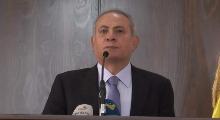 حميد: للإسراع في تشكيل حكومة وحدة وطنية لمواجهة التحديات والمخاطر