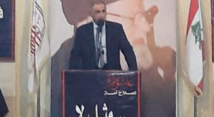 هاشم: قضية احتلال المزارع وطنية وتحتم على الجميع الالتزام بحقوق الناس