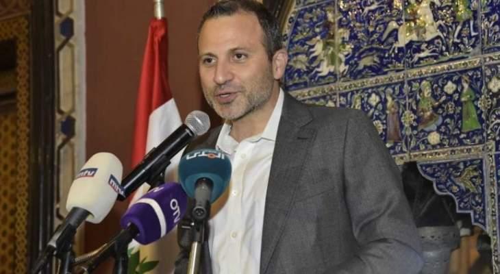 مصادر رئاسة الحكومة لـLBC: لا مشكلة لزيارة باسيل عرسال