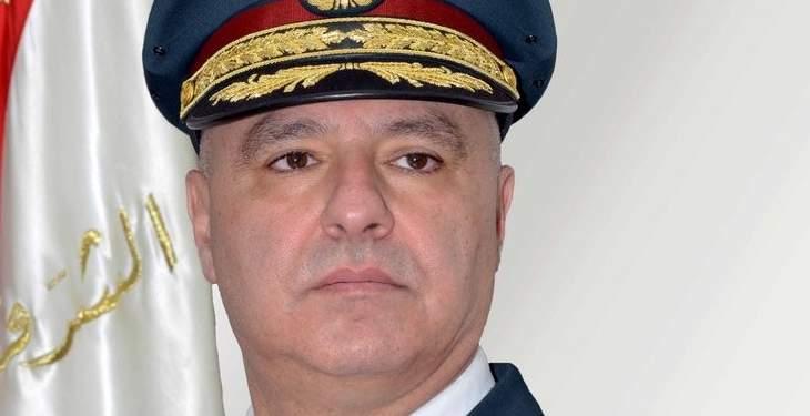 وصول قائد الجيش ووزير الدفاع إلى ثكنة بنوا بركات في صور