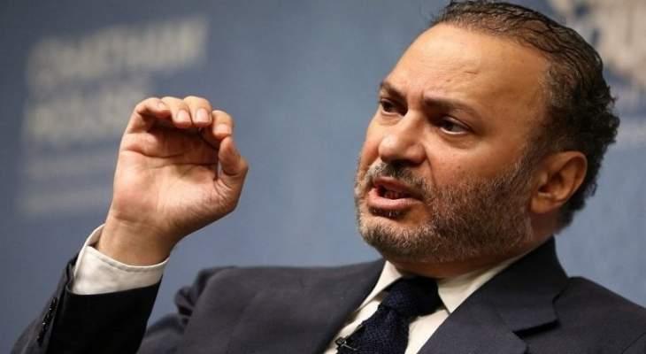 قرقاش حذر العرب من نتائج انتخابات البرلمان الأوروبي: بحاجة لتقييم التغييرات