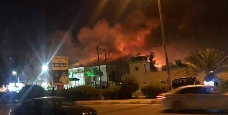 مقتل 4 عراقيين وإصابة 17 آخرين جراء إطلاق نار على متظاهرين في النجف