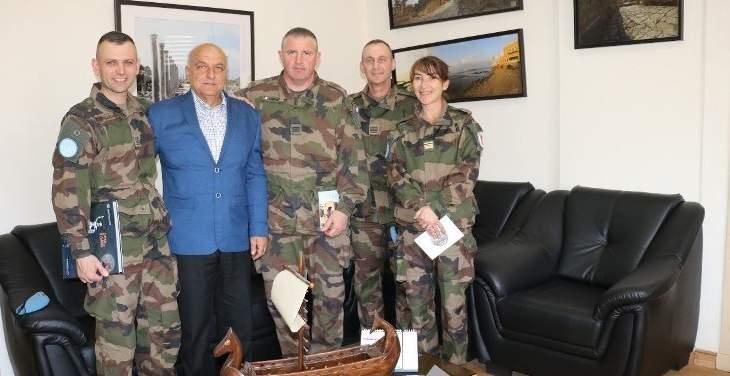 رئيس بلدية صور:لتعزيز العلاقات مع اليونيفل لأجل السلام في جنوب لبنان