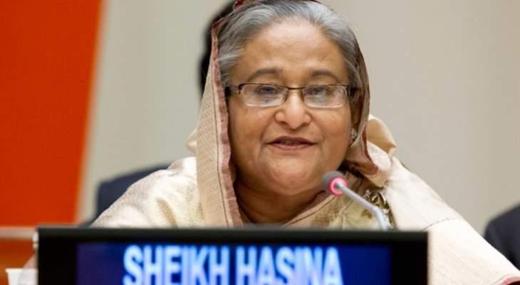 فوز ائتلاف رئيسة الحكومة بالانتخابات التشريعية في بنغلادش