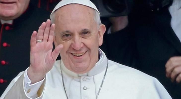 البابا فرنسيس يحض من مقدونيا الشمالية دول البلقان على التوافق