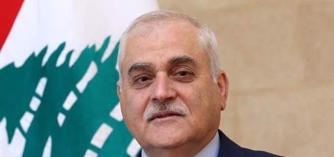 جبق من باب التبانة: التقشف لن يطال وزارة الصحة