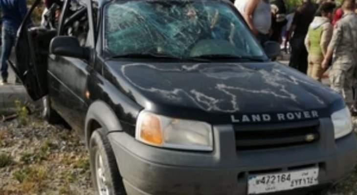 النشرة: قتيلان و5 جرحى في حادث سير على طريق كفردجال النبطية