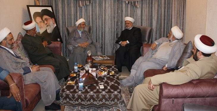 وفد من تجمع العلماء المسلمين زار يزبك