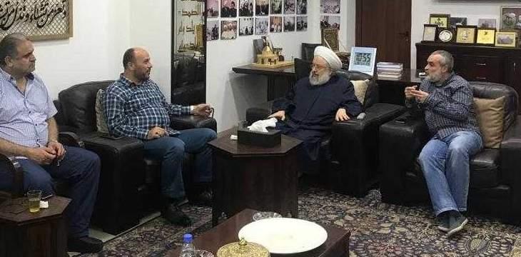 الشيخ ماهر حمود تابع الوضع في مخيم عين الحلوة واتصل بعون وبري