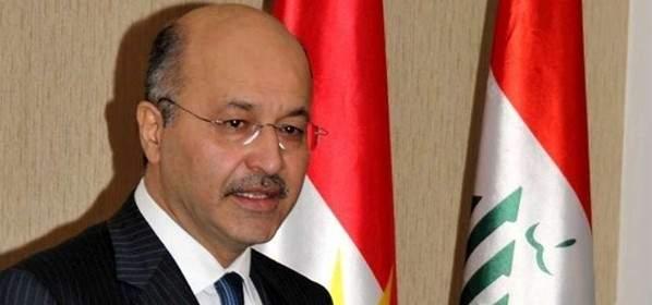 التلفزيون العراقي يعلن فوز برهم صالح بمنصب رئيس جمهورية العراق