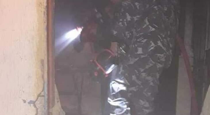 النشرة: وفاة مواطن في صيدا إختناقاً بعد إحتراق مطبخ منزله