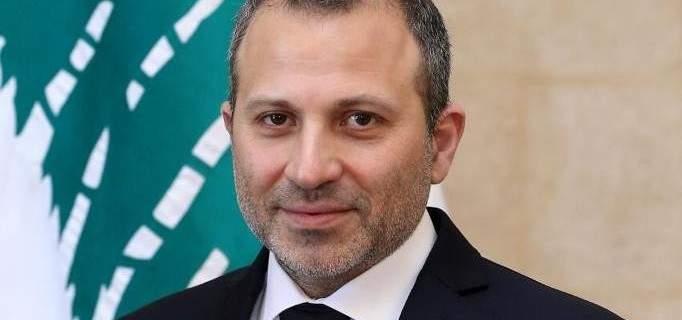 جبران باسيل: لبنان يقترح والعرب يوافقون