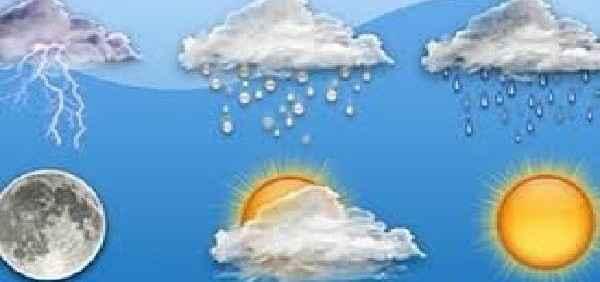الطقس غداً غائم جزئياً مع بداية ارتفاع في درجات الحرارة