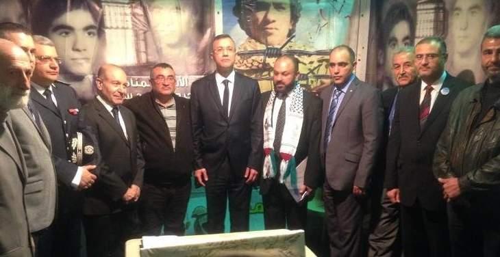 ممثل للحريري وشخصيات زاروا جناح سكاف في معرض كرامي