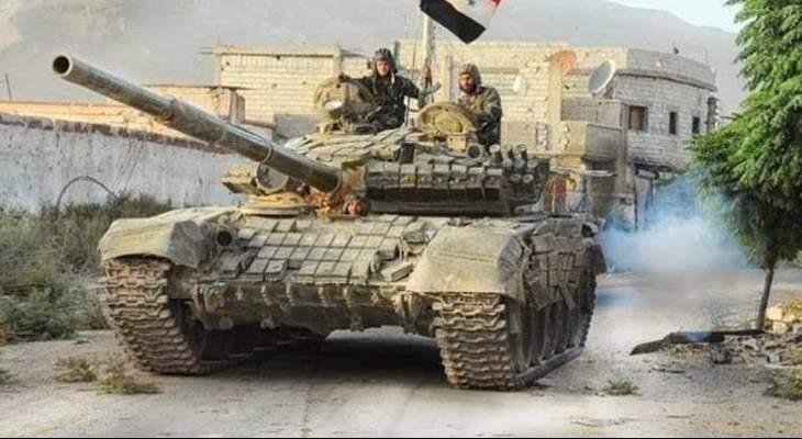 النشرة: الجيش السوري يخوض معارك عنيفة على طول محور درعا الشرقي