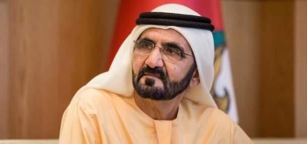 حاكم دبي عزّى بوفاة البطريرك صفير: كان قوة لصنع السلام وترسيخ استقرار لبنان